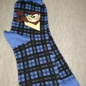 Accessories - NEW Vintage 1996 Looney Tunes Tasmanian Taz Socks